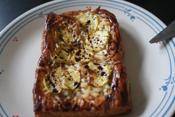 summer squash and ricotta tarts @ https://theselfcateredwedding.wordpress.com/